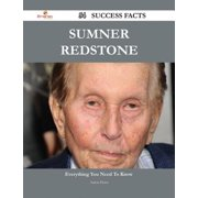 Sumner Redstone 54 Success Facts - Everything you need to know about Sumner Redstone - eBook