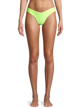 No Boundaries Juniors' V-front Swimsuit Bottom