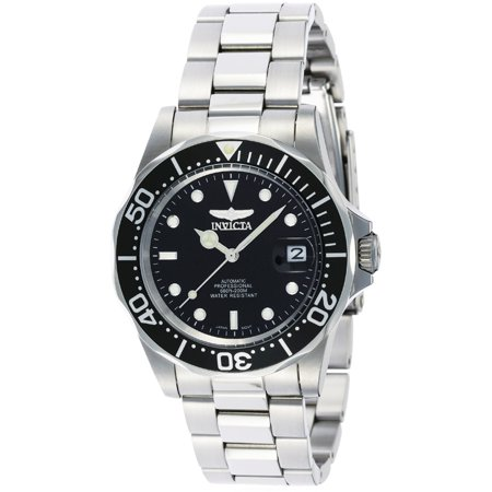Men's 8926 Pro Diver Automatic 3 Hand Black Dial Watch