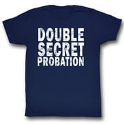 Animal House Movies Double Secret Probation Adult Short Sleeve T Shirt