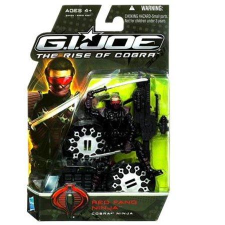 G I  Joe Rise of Cobra Red Fang Ninja Figure   Walmart Canada