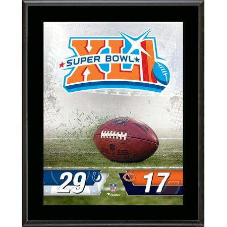 Indianapolis Colts vs. Chicago Bears Super Bowl XLI 10.5