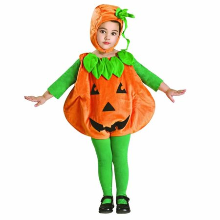 Pumpkid Pumpkin Baby Newborn size 0-6 MO Costume Romper Outfit (Rubie's Costume Sizes)