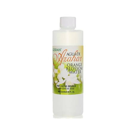 Germa Orange Blossom Water, Relaxing & Sweet Fragrance, Perfect as Skin Toner, Body Splash or Bath Oil/Agua De Azahar, Relajante & Dulce Fragancia, Perfecto Tonificador de Piel, Locion para el Cuerpo ()