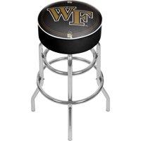NCAA Wake Forest University Padded Swivel Bar Stool