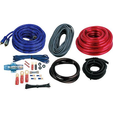 Boss Audio 4-Gauge Amplifier Installation Kit - Walmart.com