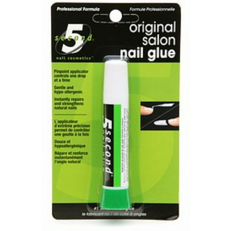 5 Second Nail Salon Nail Glue, 0.7 Oz
