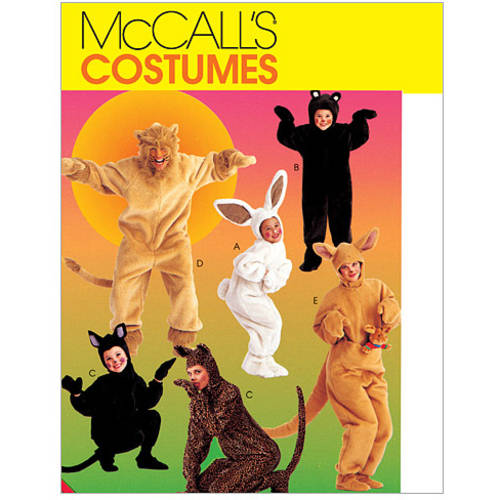 McCall's Adults' and Kids' Animal Costumes, (XL)