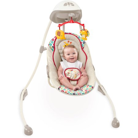Bright Starts Playful Pinwheels Plug In Sway & Swing