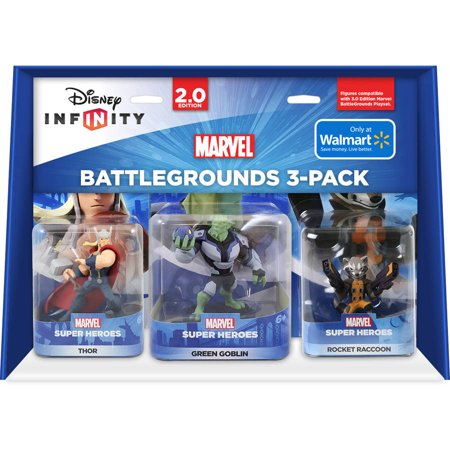 Disney Infinity 2.0 3PK Character Bundle 3 (Universal) (Witch Disney Character Are You)
