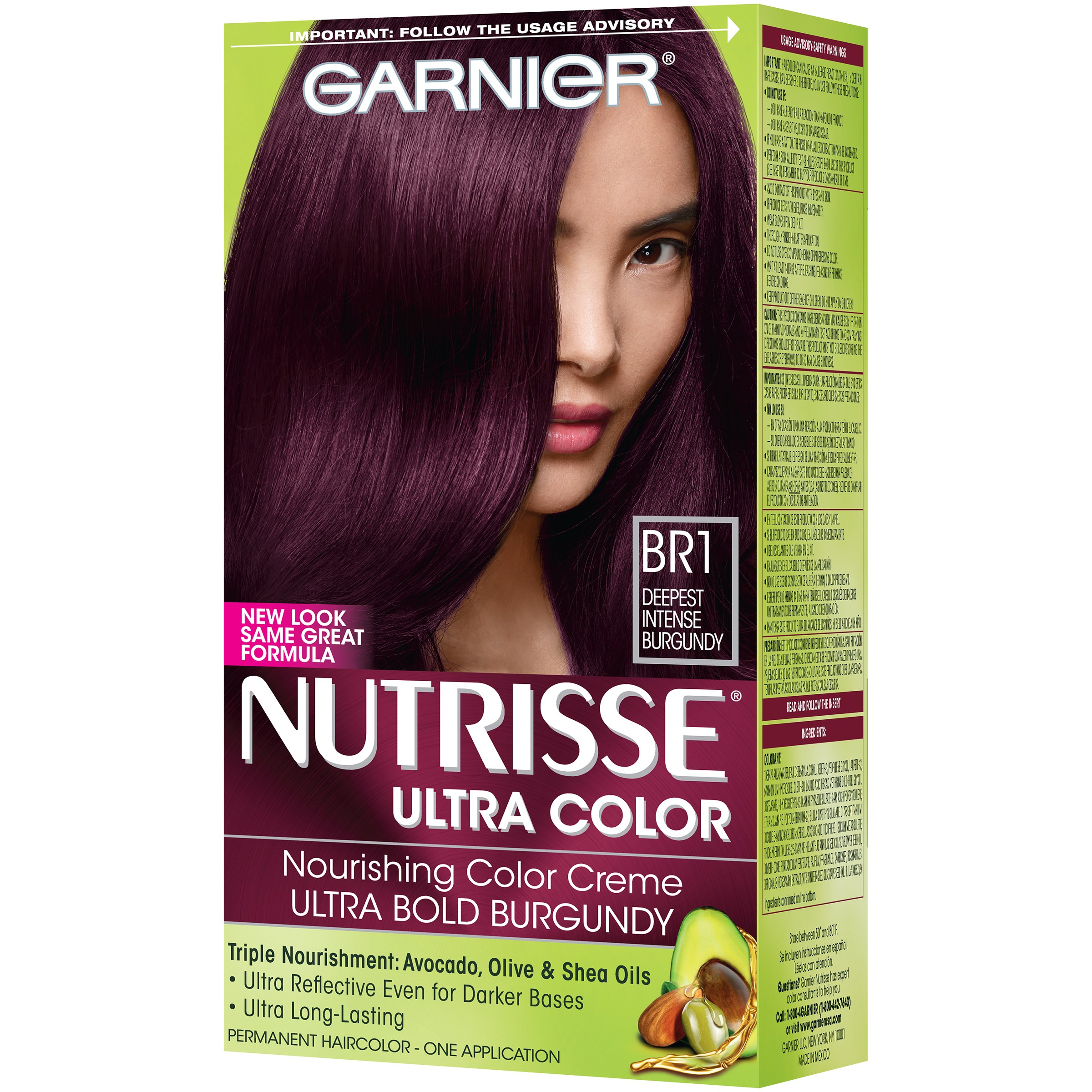 Garnier Nutrisse Ultra Color Nourishing Creme Bl 26 Reflective Auburn Black