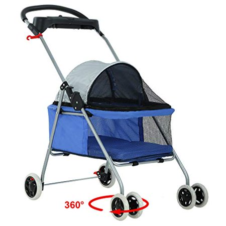 Blue Skin Posh Pet Stroller by BestPet