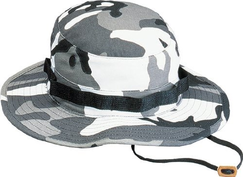 City Camouflage Military Boonie Hat 5801 Size 7 by Rothco