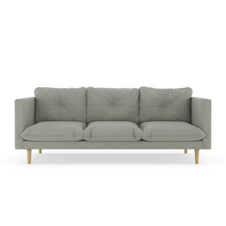 Beckham Sofa Linen Weave - Fog (Weave Sofa)