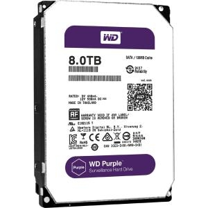 WD 8TB PURPLE SATA 6GB/S 5400 RPM DISC PROD SPCL SOURCING SEE NOTES - WD80PUZX