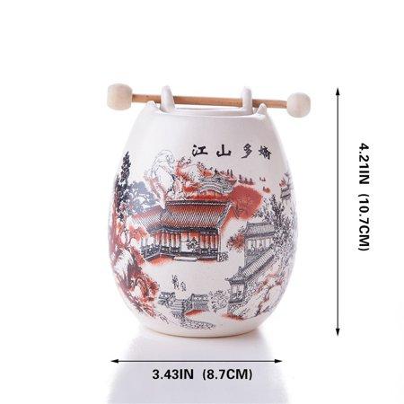 - Feng Shui Zen Ceramic Essential Oil Burner Diffuser Tea Light Holder Great For Home Decoration & Aromatherapy OLBA094