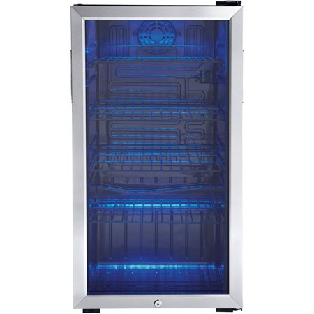 Danby 3.3 CuFt. Beverage Center Holds 128 Cans Free Standing Application