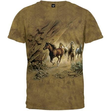 Horse Band T-shirt (Horses - Sacred Passage - T-Shirt)