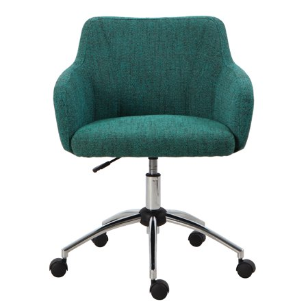 HomePop Mid-Back Swivel Office Chair - Textured Teal