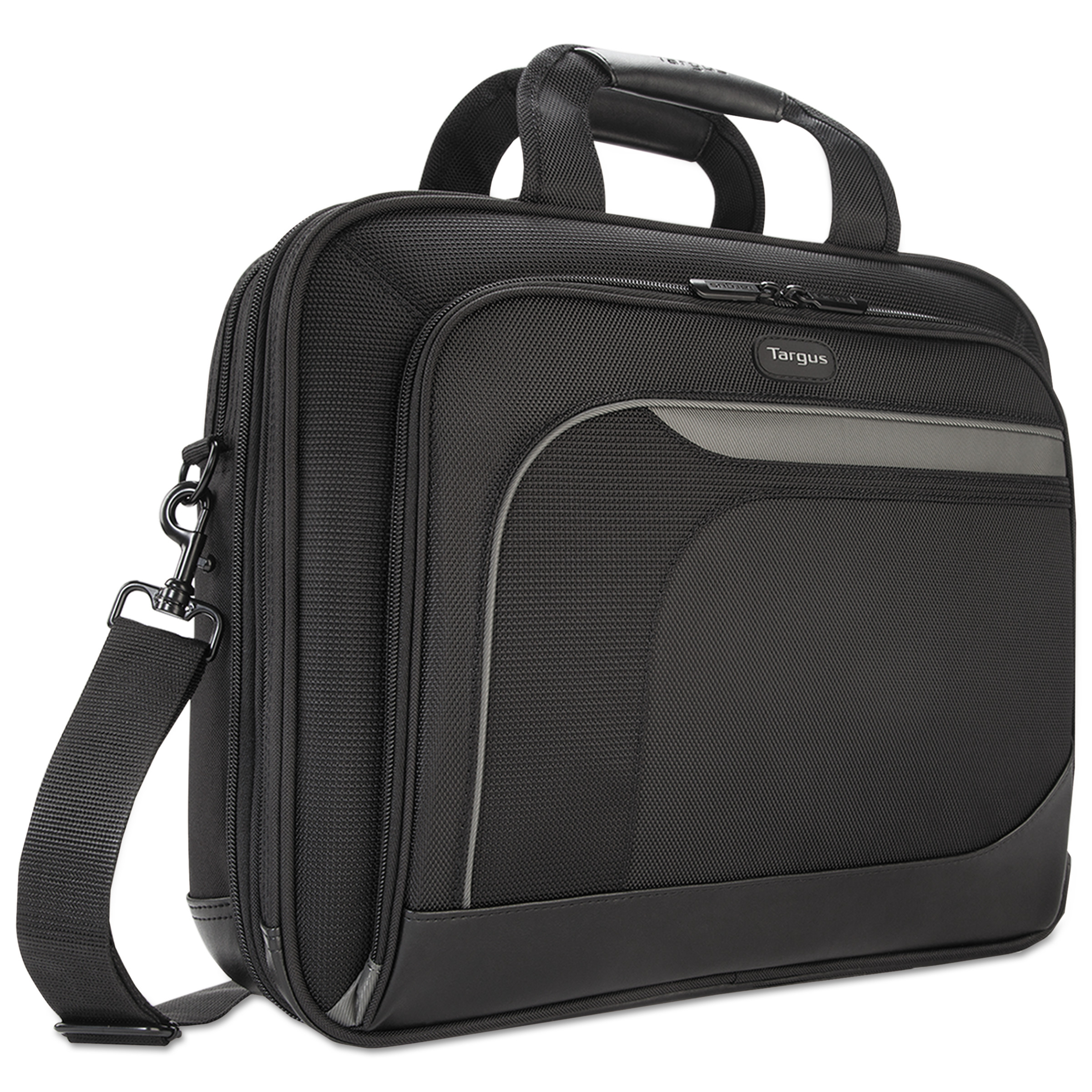 "Targus 15.4"" Mobile Elite Checkpoint-Friendly Topload, 4 1/2 x 15 3/4 x 12 1/2, Black"