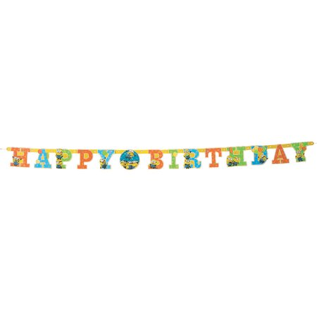 Despicable Me 3 Jointed Banner for Birthday - Party Supplies - Licensed Tableware - Misc Licensed Tableware - Birthday - 1