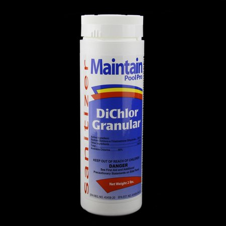 Maintain Pool Pro Sanitizer Concentrated Stabilized Chlorinating DiChlor Granular