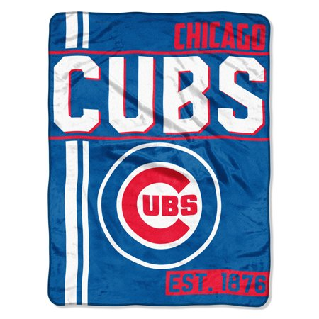 "Chicago Baseball Stadium (MLB Chicago Cubs ""Walk Off"" 46""x 60"" Micro Raschel Throw)"