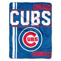 """74dd78002ce Product Image MLB Chicago Cubs """"Walk Off"""" 46""""x 60"""" Micro Raschel Throw"""