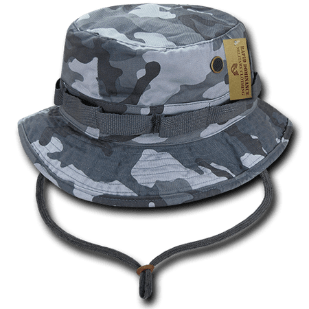f25e5a2b5dfd0 Rapid Dominance Boonies Vintage Jungle Bucket Military Fishing Hunting Rain  Hats Caps - Walmart.com