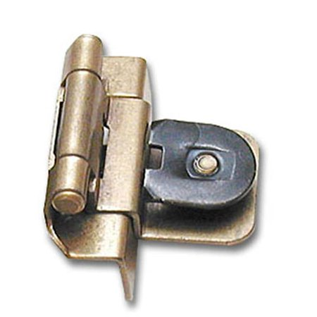 Miraculous A08700 Bb Amerock Double Demountable 0 38 Inch Inset Cabinet Door Hinge Burnished Brass Best Image Libraries Barepthycampuscom