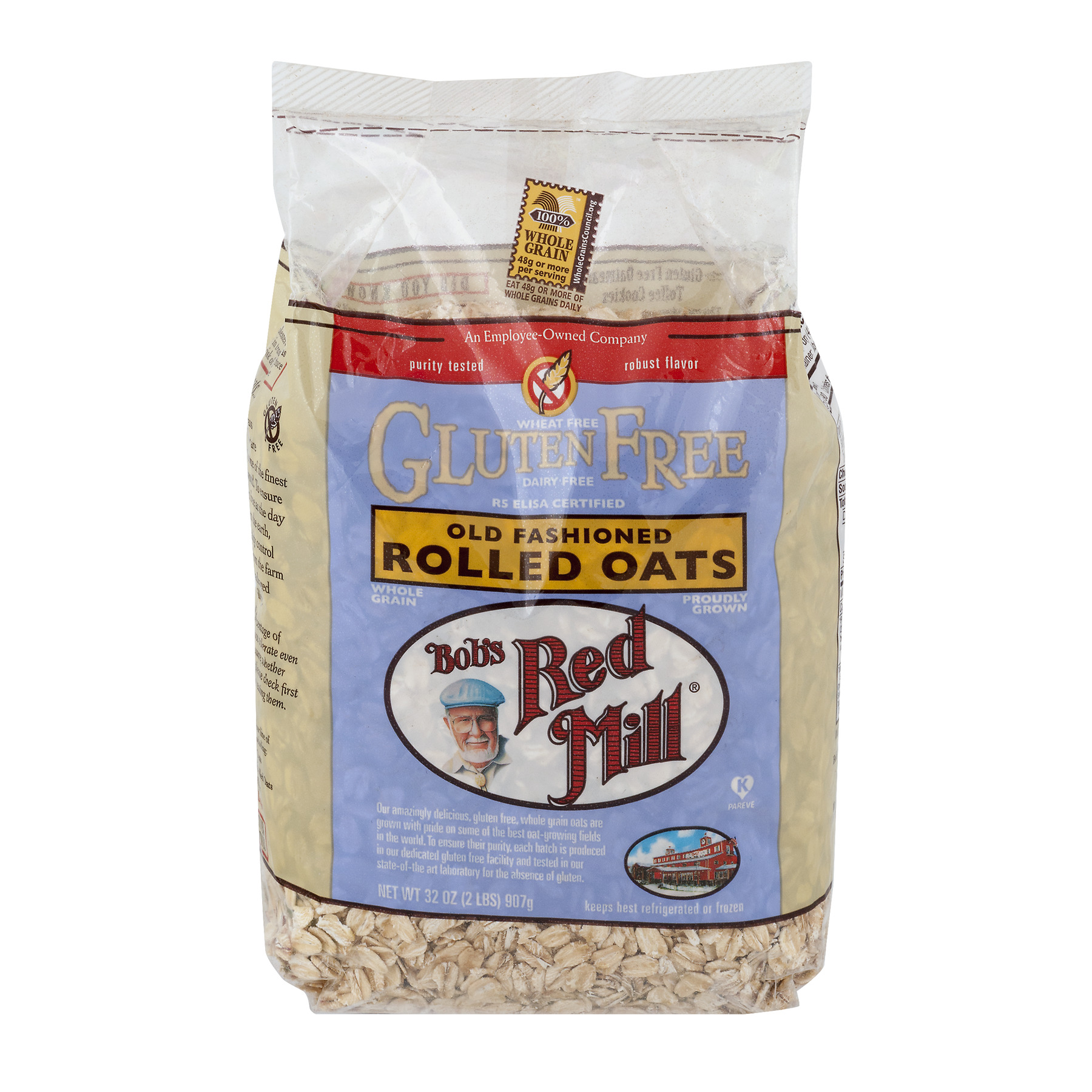 Bob's Red Mill Gluten Free Old Fashioned Rolled Oats, 32.0 OZ