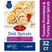 Nancy's Tomato Provolone and Turkey Bacon Ranch Deli Spirals Variety Pack 32 count Box