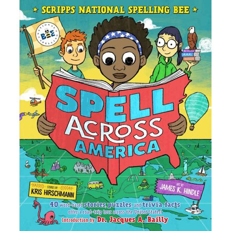 Spell Across America: 40 word-based stories, puzzles, and trivia facts offer a road-trip tour across the United (5 Regions Of The United States Facts)