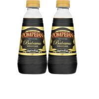 (2 Pack) Pompeian Balsamic Vinegar Aged in Oak 16 Ounce