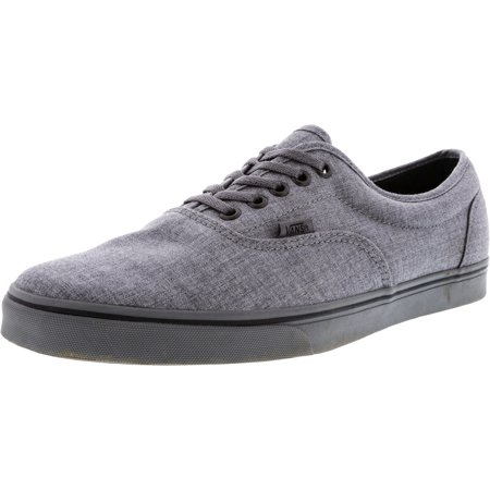 f5d5fb6e98 Vans - Vans Men s Lpe Dressed Up Smoked Pearl Ankle-High Canvas  Skateboarding Shoe - 11M - Walmart.com