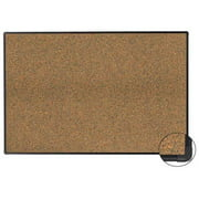 Aarco Products EFC4848 Fusion Cork Bulletin Board with Deluxe Euro Trim, 48 x 48 in.