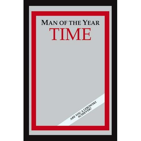 Mirror Magazine - The Big Lebowski - Time Magazine Man Of The Year - XL Bar Mirror (Are You A Lebowski Achiever?)