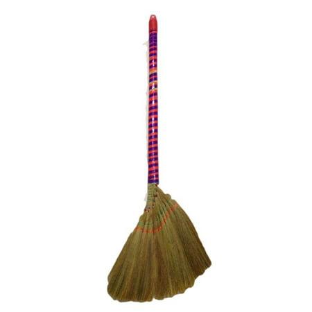 Viatnames Soft Fan Straw Broom Approx 40 Quot Long