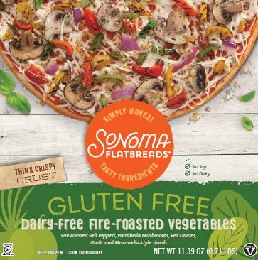 Sonoma Flatbreads Veggie Pizza