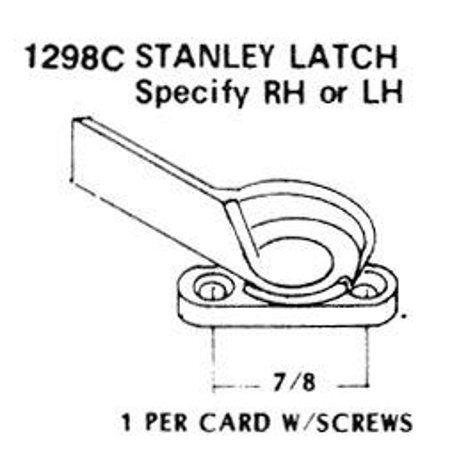 Strybuc 1298CL Window Latch  Left Hand Side; 7/8 Inch Center Hole Diameter; With Screw - image 1 of 1