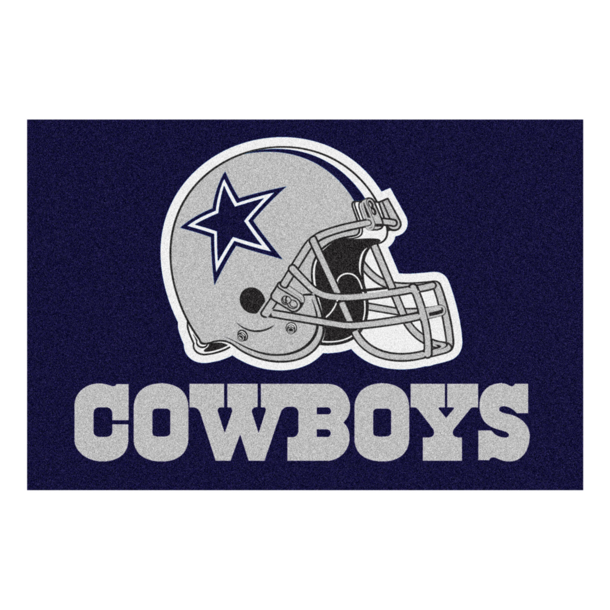 NFL Dallas Cowboys Starter Mat Rectangular Area Rug