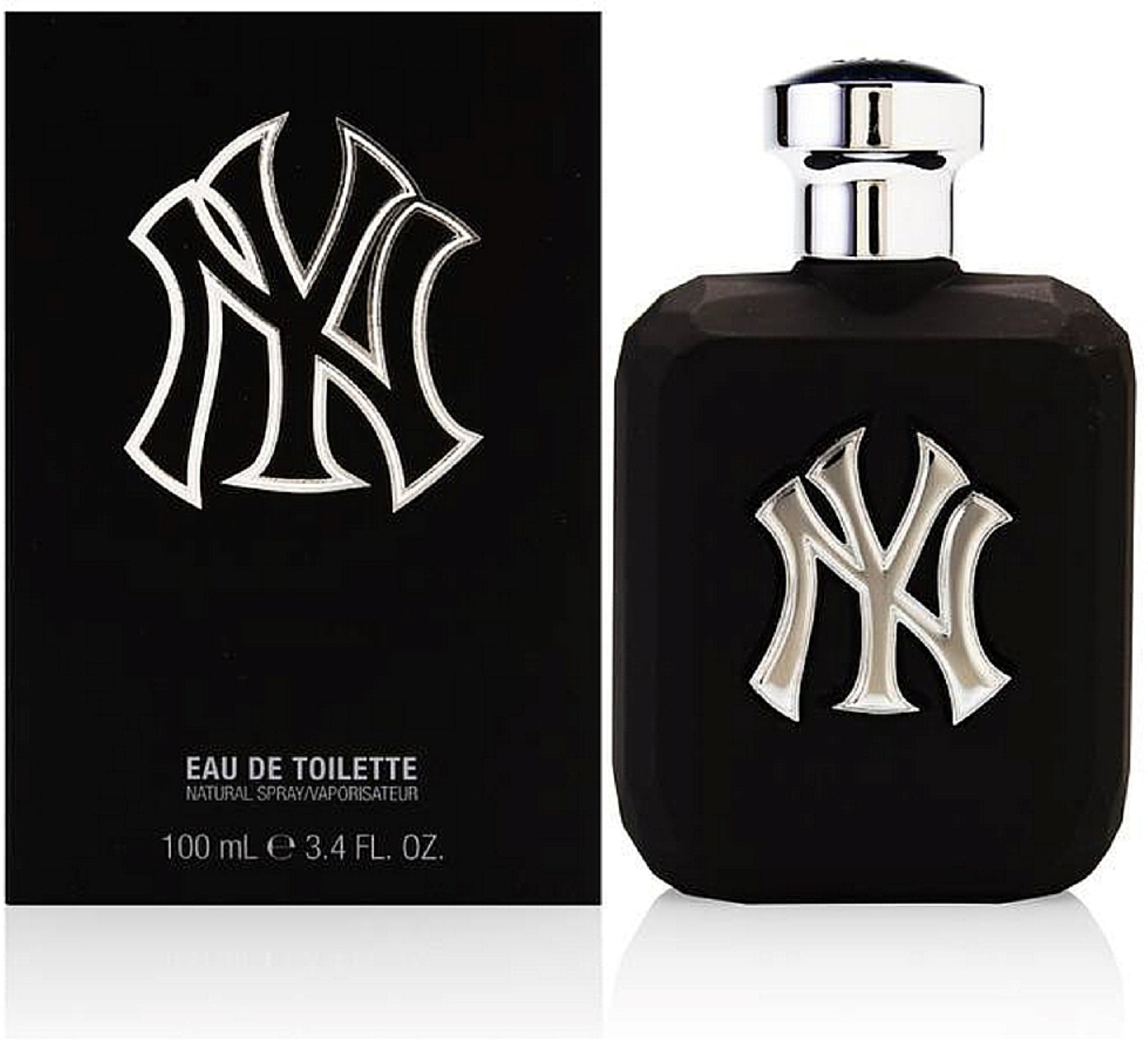 New York Yankees Pitch Black Eau De Toilette Spray 3.40 oz