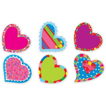 CTP4118 - Valentine Hearts Stickers by Creative Teaching Press - Valentine Stickers