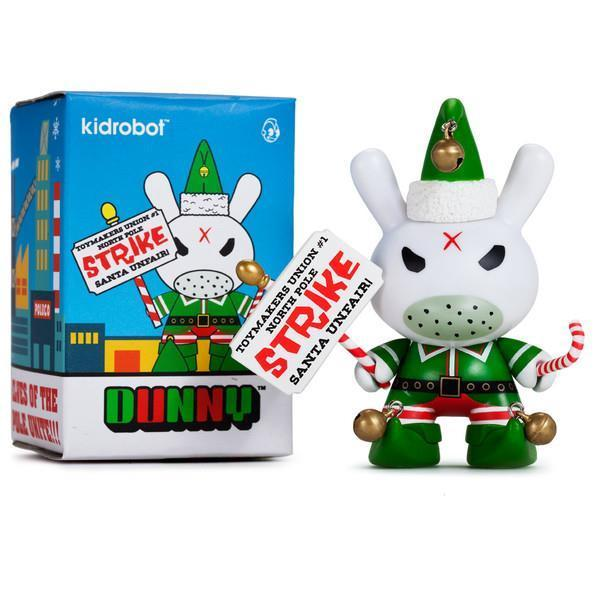 "Holiday Grumpy Elf 3"" Dunny (by Frank Kozik) Vinyl Figure from Kidrobot"