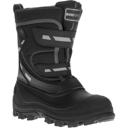 Weather Spirits - Men's Aleks Velcro Winter Snow Boots
