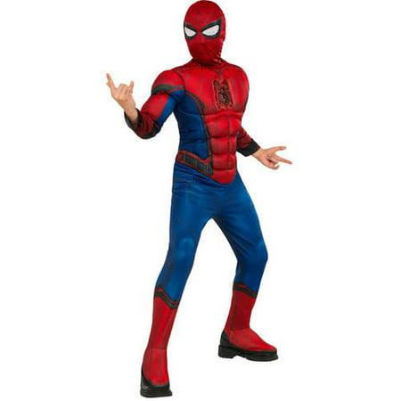 Spiderman Deluxe Child Jumpsuit Halloween Costume for $<!---->
