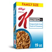Kellogg's Special K Protein, Breakfast Cereal, Original, Value Size, 19 Oz
