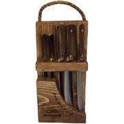 Ontario Knife Company Old Hickory 5 Piece Block Set