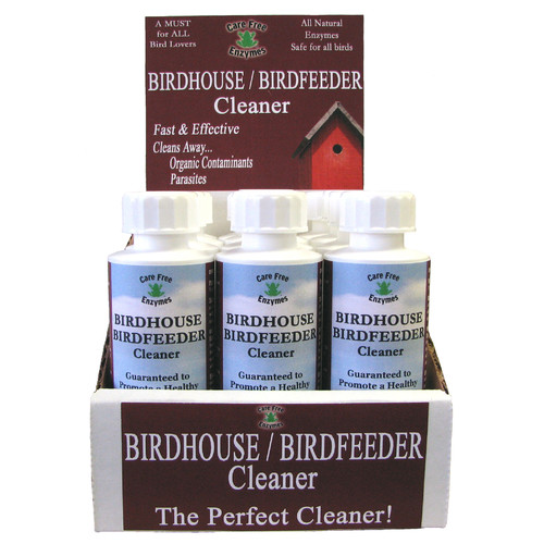 Care Free Enzymes Birdhouse Birdfeeder Cleaner