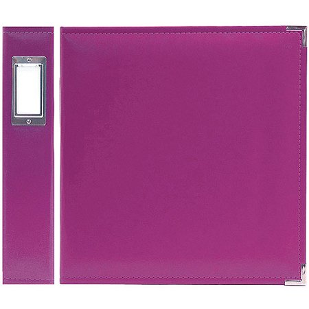 We R Faux Leather  Ring Binder